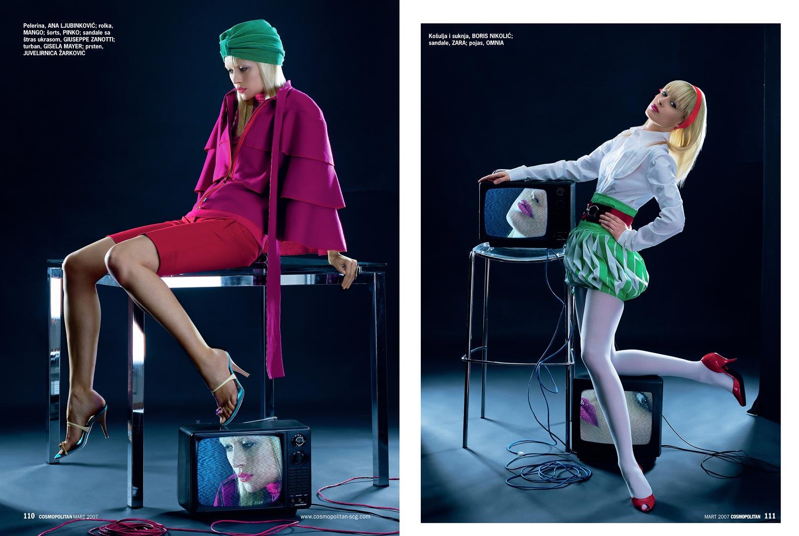 Fashion Magazine Editor?
